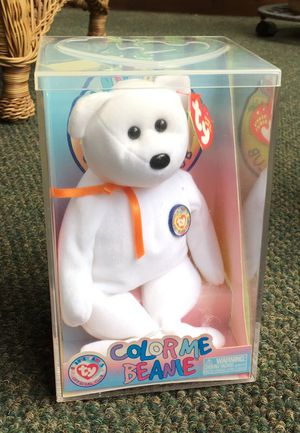 Ty beanie, original orange collar, never opened. Bear for Sale in Apex, NC