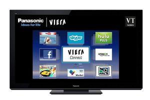 "Panasonic 65"" Plasma HDTV 3D TC-P65VT30 for Sale in Alexandria, VA"