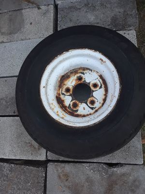 Trailer tire for Sale in Lake Alfred, FL
