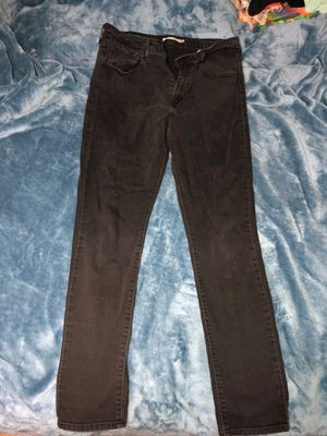 Levi High Rise black skinny jeans for Sale in Plantation, FL