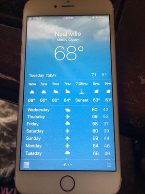 APPLE IPHONE 6 PLUS for Sale in Nashville, TN