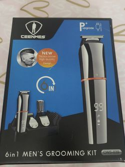 Ceenwes Beard Trimmer for Men 6 In 1 Hair Clippers Cordless Waterproof Multi-functional for Sale in Hollywood,  FL