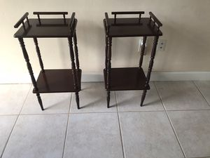 Two end tables / night stand for Sale in Coral Gables, FL
