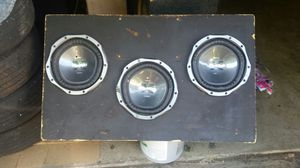 Subwoofer box for 3 10s for Sale in Pittsburgh, PA