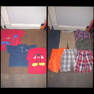 Boys clothes. (Shirts, shorts, and pants) for Sale in Cleveland, OH