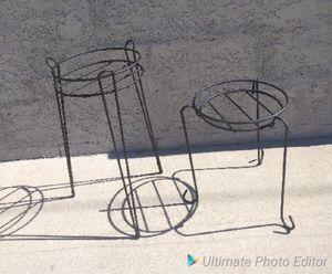 2 Wrought Iron Plant Stands for Sale in Bell, CA