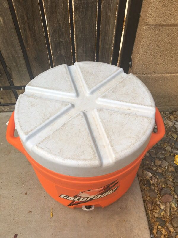 Gatorade cooler