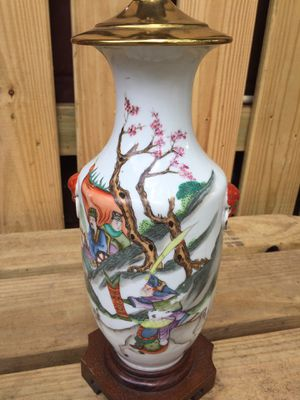 Antique Chinese vase/lamp circa 1895 for Sale in Jacksonville, FL