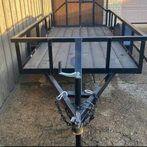 Trailer 5x10 With 4ft Ramp for Sale in The Colony, TX