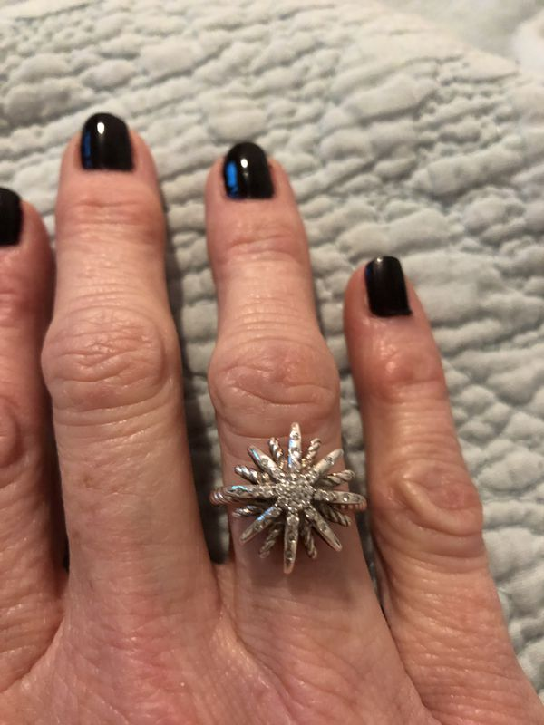 David Yurman starburst ring 5.5
