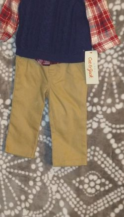 New With Tags Boys Cat & Jack Outfit 3/6 Mo for Sale in Vancouver,  WA