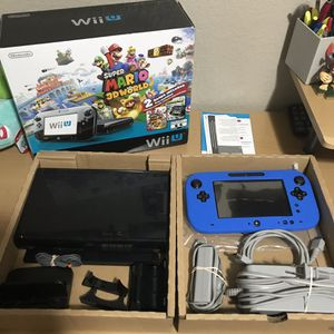 Nintendo Wii U Bundle w/Two Games for Sale in Temple, TX