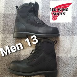 Red Wing Men 13 Steel Toe Slip Resistant Work Boots for Sale in Anaheim,  CA