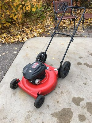Poulan Pro Large Wheel Push Lawnmower for Sale in Roseville, MN