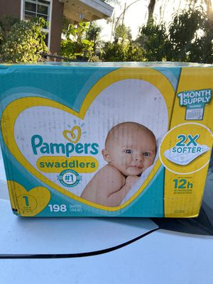 Pampers Swaddlers size 1 for Sale in Pomona, CA
