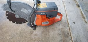 Husqvarna K760 concrete and demolition saw for Sale in Lithonia, GA