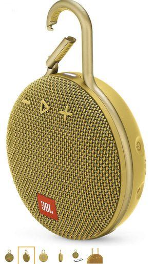 JBL CLIP Yellow Portable Bluetooth/Wireless/Waterproof Speaker for Sale in Hawthorne, CA