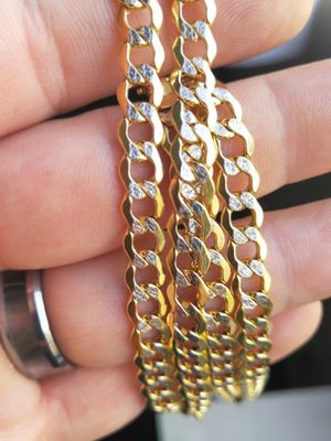14k Cuban Gold chain for Sale in Los Angeles, CA