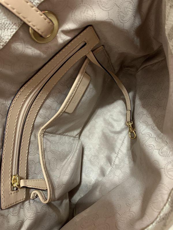Michael Kors Vanilla Logo Tote Bag - NEW