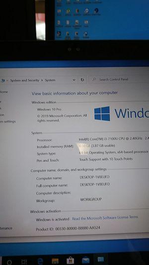 Dell inspiron has Windows 10pro for Sale in Vista, CA