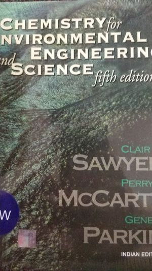 Chemistry for Environmental Engineering and Science for Sale in San Luis Obispo, CA