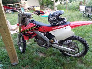 2001 Honda CR125 - 2 STROKES Dirt bike for Sale in Marlborough, MA