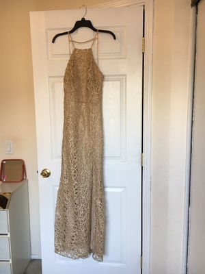 Cream Prom Dress for Sale in Rancho Cucamonga, CA