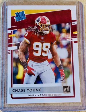 NFL 2020 Panini Donruss Rated Rookie Washington Redskins Chase Young Rookie Card for Sale in North Ridgeville, OH
