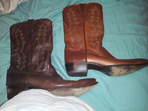Zodiac cowboy boots size 13