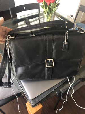Coach laptop / messenger bag with many compartments for Sale in Glendale, CA