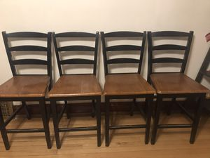 4 bar chairs for Sale in Blue Island, IL