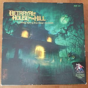 Betrayal at House on the Hill (LIKE NEW!) complete board game for Sale in Boston, MA