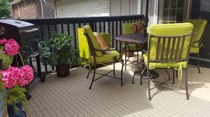 Patio Set of chairs table umbrella for Sale in Stockbridge, GA