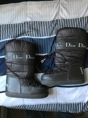 Vintage Christian Dior Moon Boots (Brown) for Sale in Hartford, CT