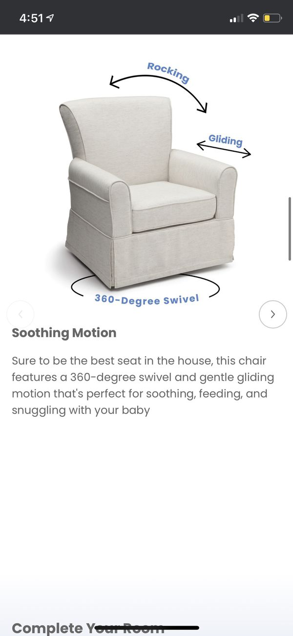 Ivory Gliding Chair