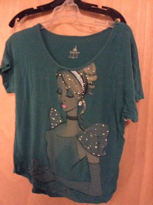 Princess Cinderella teal shirt for sale for Sale in Bend, OR