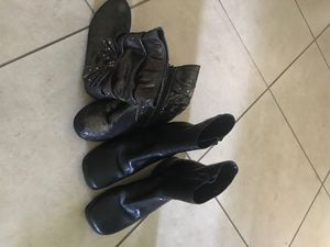 Girls size 6 and 6 1/2 boots for Sale in Kure Beach, NC