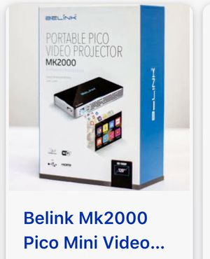 New... pico portable video projector... BELINK 2000 for Sale in Chandler, AZ