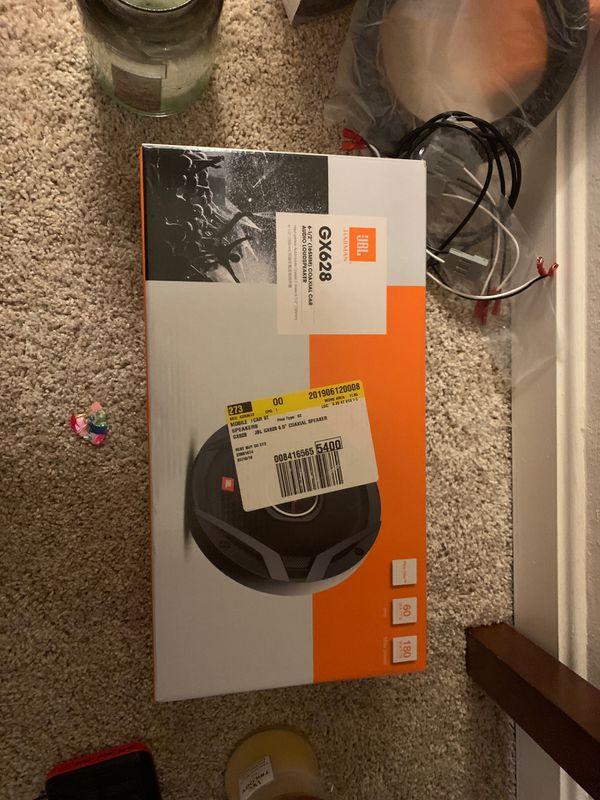 JBL GX628 6.5in speakers