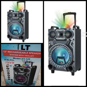YLT 12 RECHARGEABLE SPEAKER WITH TROLLEY for Sale in Anaheim, CA