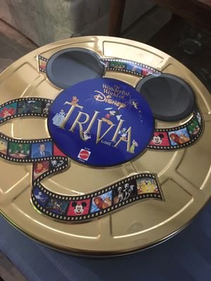Wonderful World of Disney Trivia Game for Sale in Frisco, TX