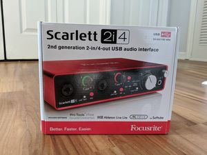 2-in/4-out USB audio interface for Sale in Atlanta, GA