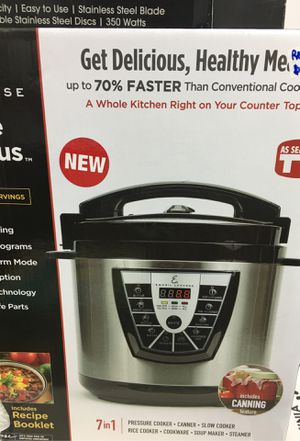 Emeril lagasse pressure cooker plus for Sale in Houston, TX