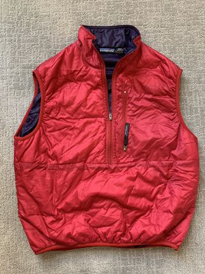 Vintage 90s Patagonia Mens Medium Zipper Puffer Down Pullover Vest Made in USA for Sale in Lakewood, CO