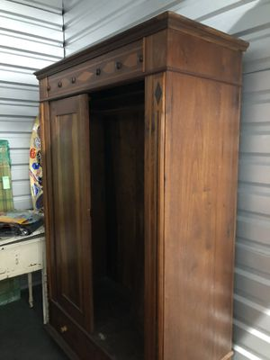 Brazilian Mahogany Armoire. Antique over 150 yrs old for Sale in Irvine, CA