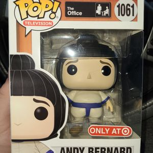 Funko The Office: Andy Bernard In Sumo Suit for Sale in Fort Worth, TX