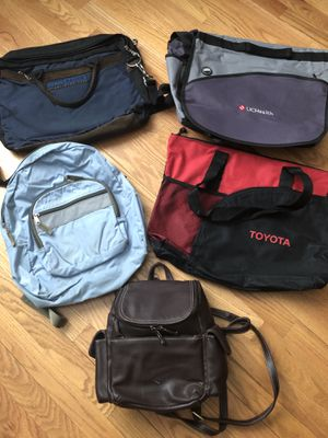 Messenger Bags, Backpack, Leather Purse for Sale in Aurora, CO