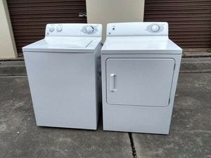 Not working, , Washer and Electric dryer for Sale in Oklahoma City, OK