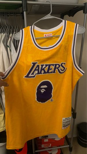 Kobe Bryant Lakers Bape Jersey for Sale in Palmdale, CA