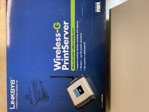 Linksys Wireless Print Server for Sale in Kilgore, TX